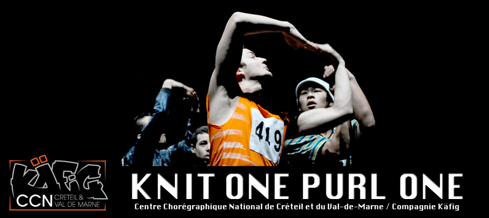 "CCN/Compagnie Käfig ""KNIT ONE PURL ONE"""
