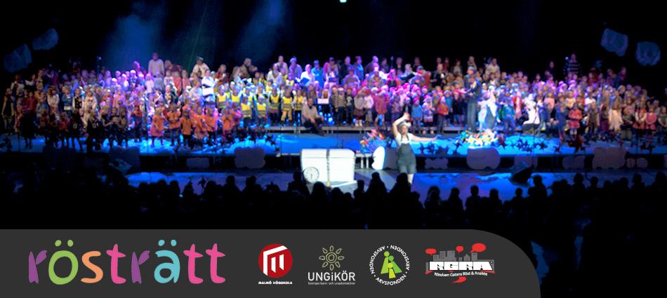 Rösträtt – Storslagen Finalkonsert i Baltiska Hallen!