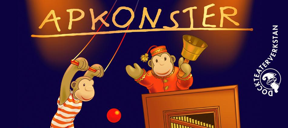 """Dockteaterverkstan i Osby """"Apkonster"""""""